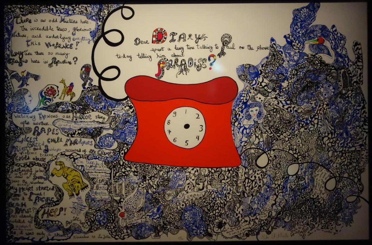 Niki de Saint-Phalle,  Journal & lettres  / Diary & letters